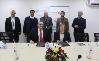 NESI signs a Collaboration Agreement with Global Health Development/The Eastern Mediterranean Public Health Network (GHD/EMPHNET) on 14 January 2020 in Amman, Jordan