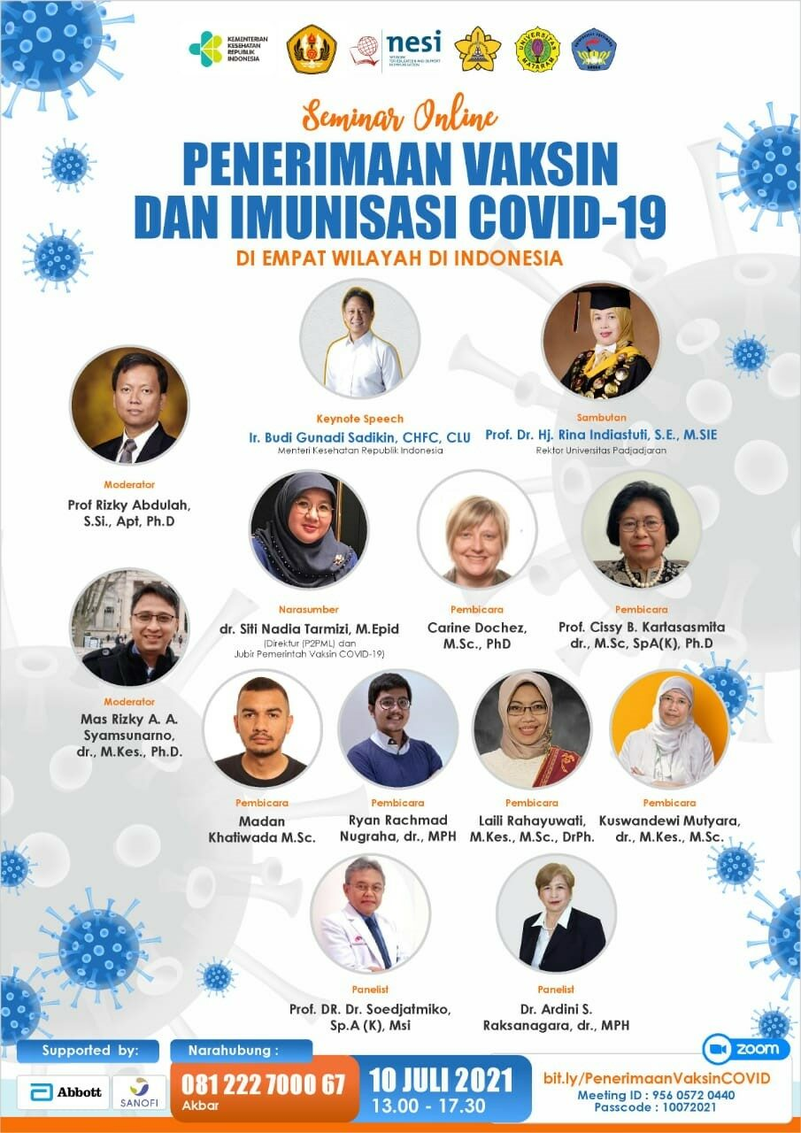 Online Seminar on COVID-19 vaccine acceptance in Indonesia